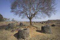 ラオス ジャール平原 石壺