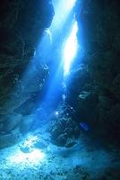 沖縄県 黒島 海中洞窟