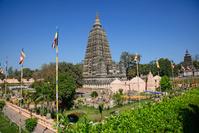 インド マハボディー寺院大塔