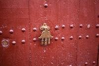 モロッコ ファティマの手 ドア