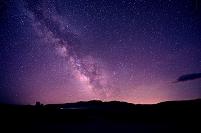 アメリカ合衆国 モノ湖 星空