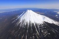静岡県 富士山(富士宮市上空付近より)