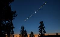 アメリカ オレゴン州 皆既日食(2017年8月)