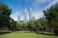 マレーシア ペトロナスツインタワー