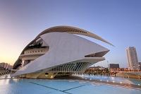 バレンシア 芸術科学都市 ソフィア王妃芸術宮殿