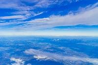 機中より雲