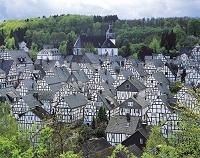 ドイツ フロイデンベルク モノトーンの街並み