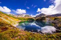 富山県 みくりが池から立山