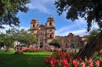 ペルー クスコのラ・コンパニーア・デ・ヘスス教会