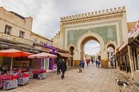 モロッコ フェズ ブー・ジュルード門