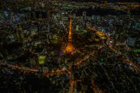 東京タワーライトアップ夜景