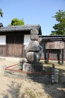 滋賀県 五個荘 金堂馬場の五輪塔