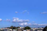 大阪府 堺市 青空と住宅街