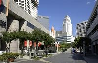 アメリカ ロサンゼルス シビックセンターと鬼塚メモリアル