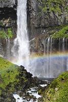 栃木県 華厳の滝と虹