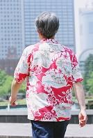 東京都 日比谷公園 日本人男性