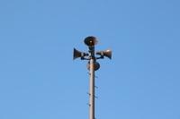 栃木県 稲荷町防災公園 防災無線スピーカー