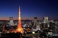 東京都 東京タワーと夜景