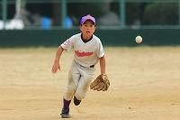 少年野球の内野手