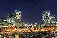 東京都 東京駅 ライトアップ