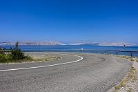 クロアチア 海沿いの道