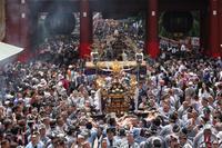 三社祭 町内神輿連合渡御