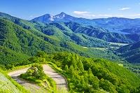 日本 福島県 磐梯山