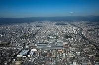 京都府 京都駅周辺より京都市街地