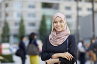 ムスリムのビジネス女性