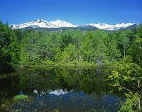 長野県, 乗鞍岳と牛留池