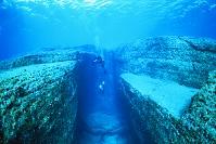 沖縄県・与那国島 与那国島海底地形