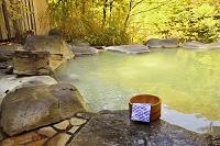 濁り湯の露天風呂