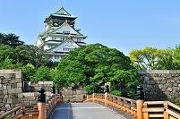 大阪府 大阪城の極楽橋