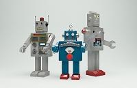 ロボットの人形