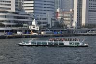 東京港 水上バス「ホタルナ」