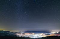 長野県 高ボッチ高原から見た星空