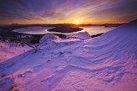 北海道 屈斜路湖の朝