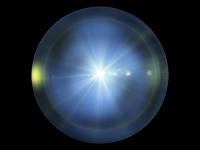 球体内の光