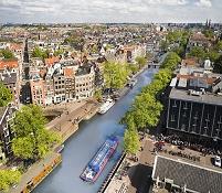 オランダ アムステルダム プリンセン運河