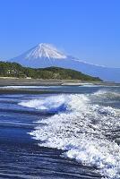 静岡県 三保の松原 富士山と駿河湾