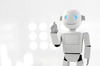 指をさすロボット CG