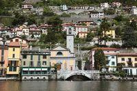 イタリア ロンバルディア コモ湖の別荘