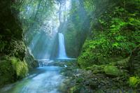 鹿児島県伊佐市奥十曽渓谷 冷水の滝