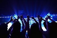 音楽フェスの観客