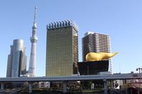 東京都 アサヒビール金の炎塗替完了(17年12月)