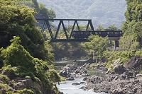 兵庫県 川西市 猪名川 能勢電車 鉄橋