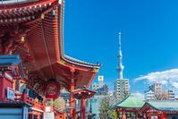 東京都 浅草寺とスカイツリー