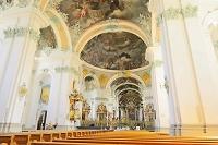 スイス サンガレン大聖堂内部