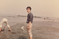 昭和時代の潮干狩り