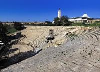 チュニジア カルタゴ遺跡 ローマ劇場